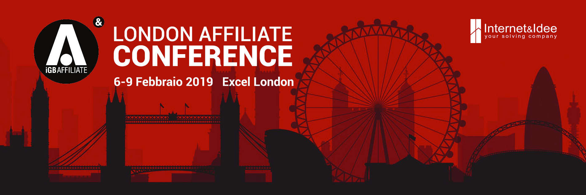 Internet & Idee to attend London Affiliate Conference 2019
