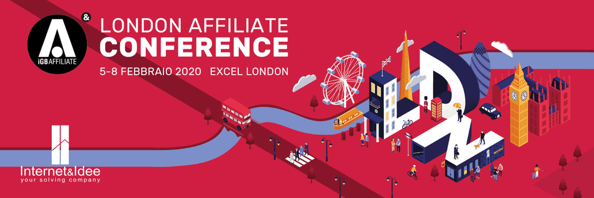 iGaming: Internet & Idee will be present at iGB Affiliate London 2020