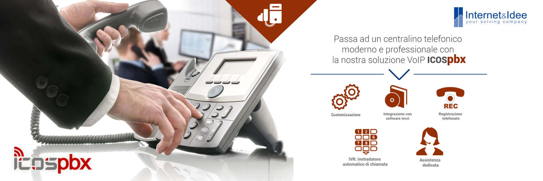 ICOSbpx: The VoIP solution complete and easy to handle