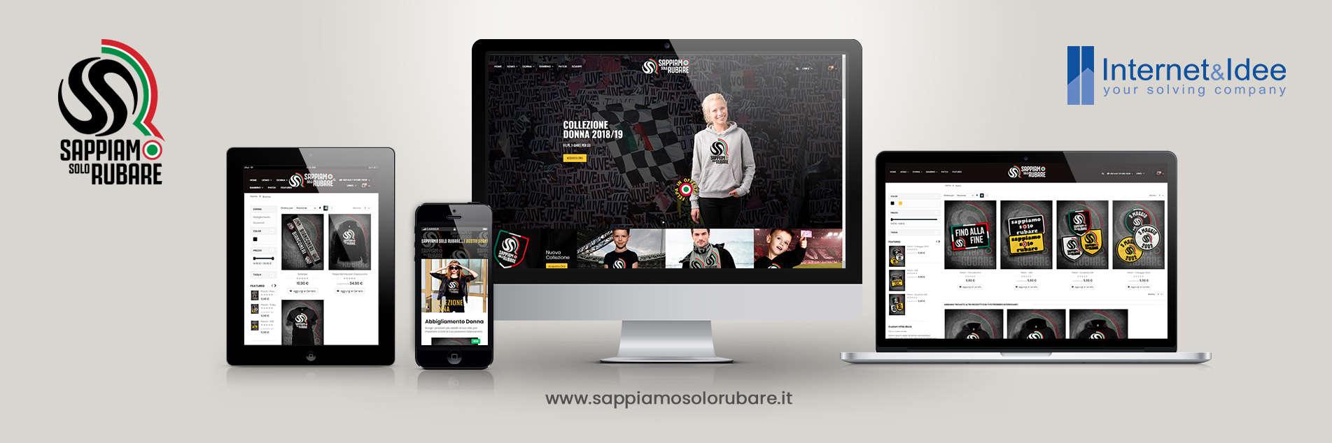 Pubblicato SappiamoSoloRubare.it | Abbigliamento e accessori per il tifoso bianconero