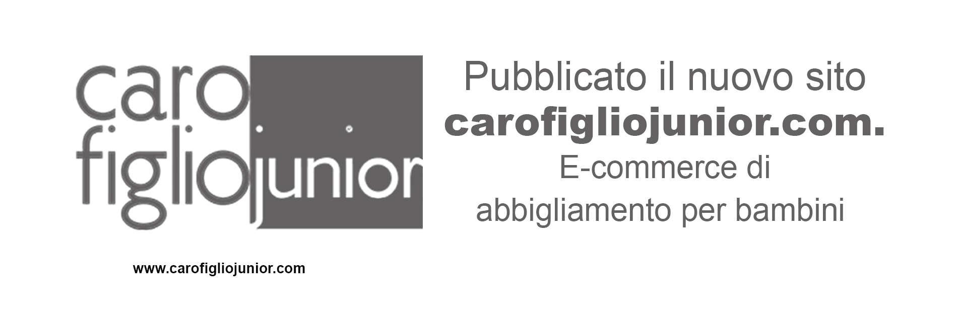 Il nuovo e-commerce di Carofiglio Junior è online