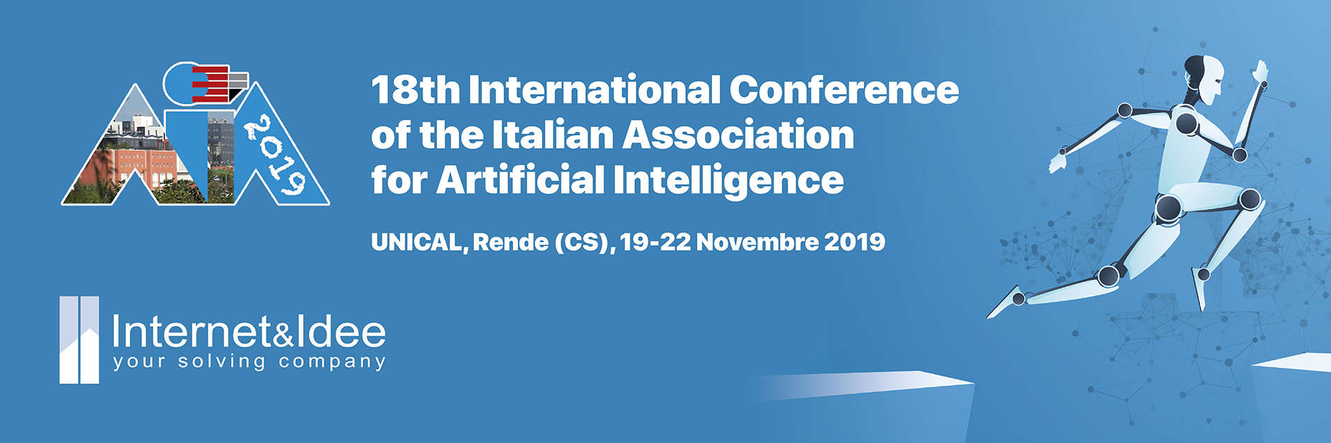 I&I sponsor of the 18th International Conference of the Italian Association for Artificial Intelligence (AIIA 2019)