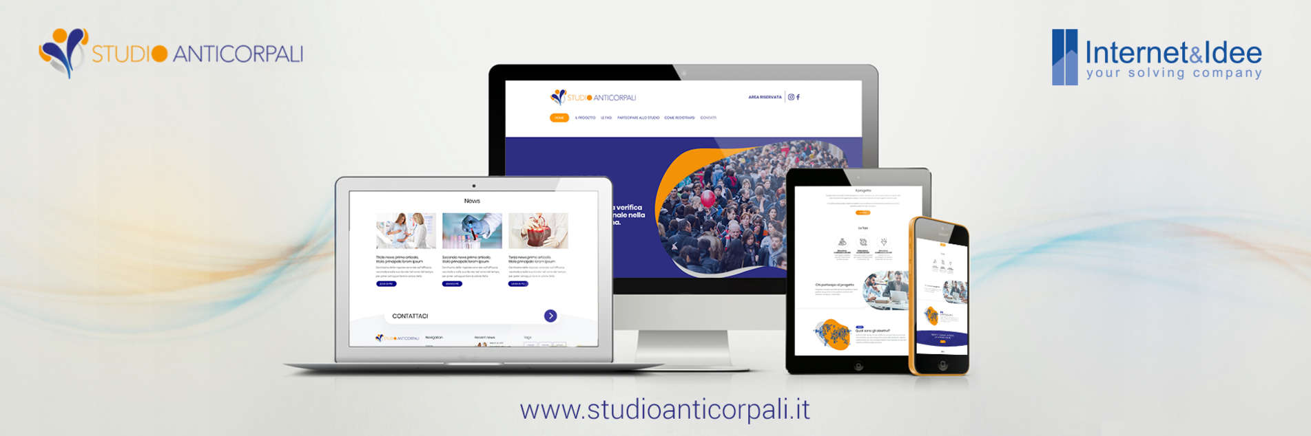 A new website for Studio Anticorpali Project
