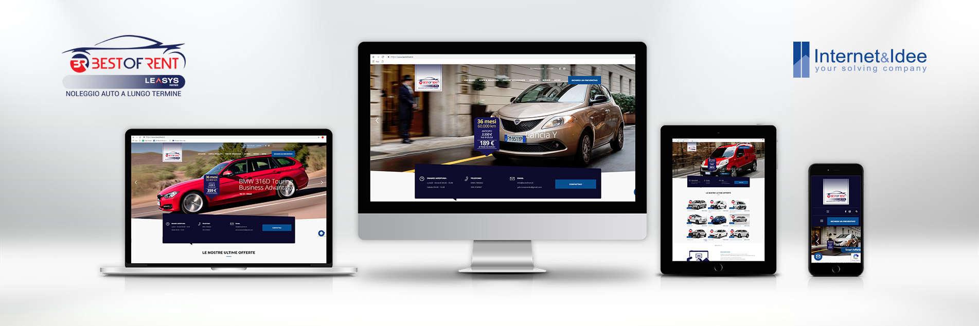Pubblicato il nuovo sito di Best of Rent | Noleggio Auto a Lungo Termine
