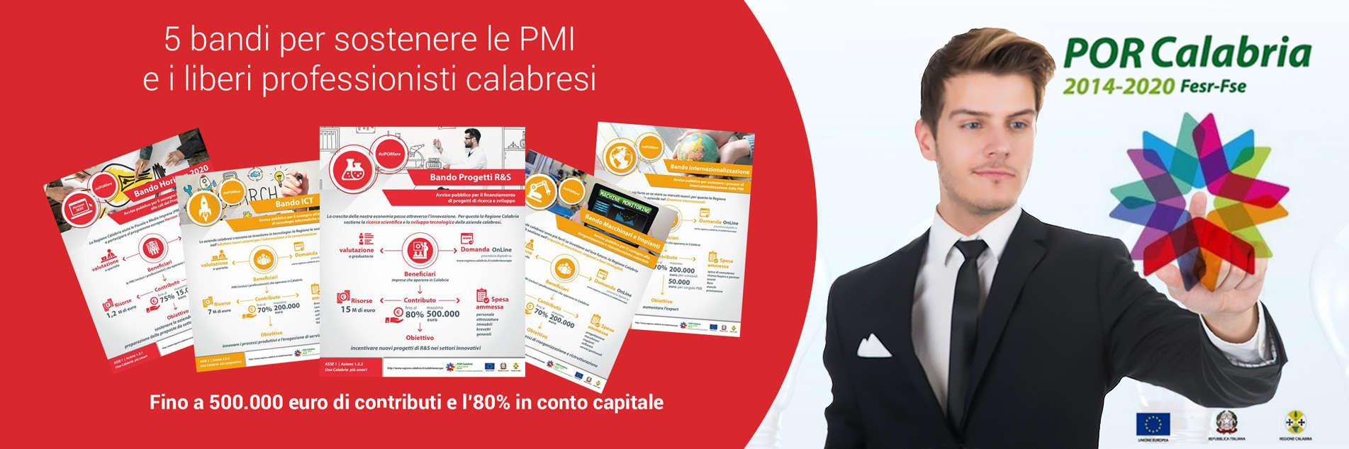 Announcements for innovation and competitiveness: POR CALABRIA FESR-FSE 2014-2020