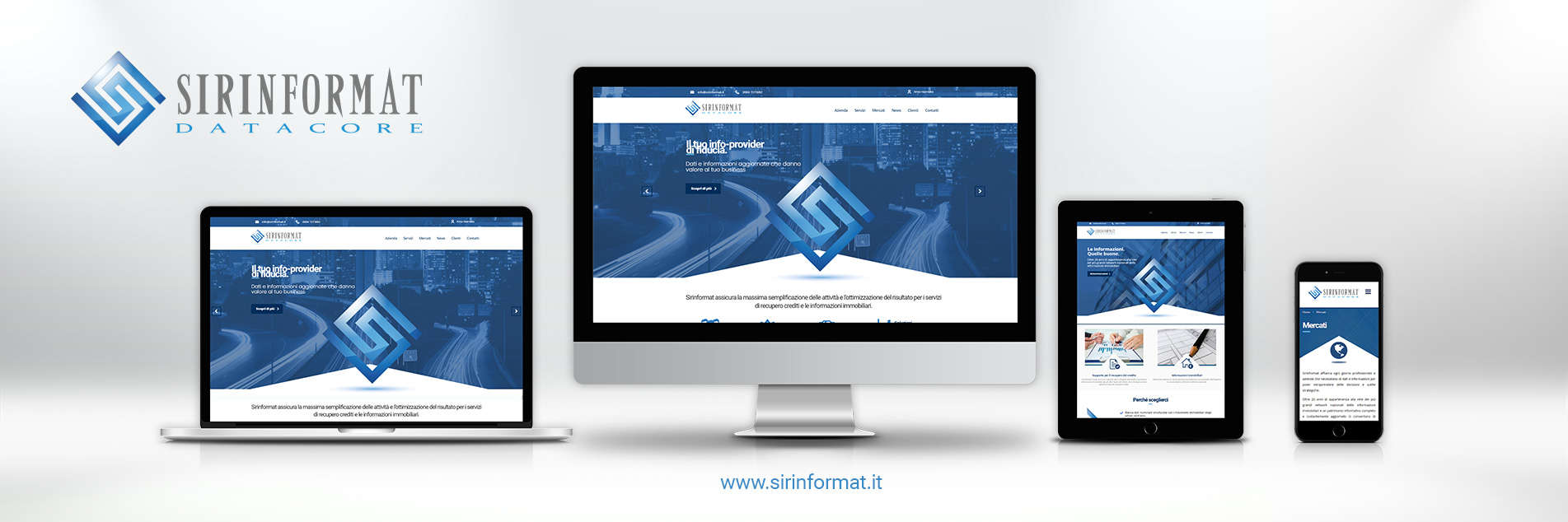 Sirinformat new website is online | Real estate information and debt collection services