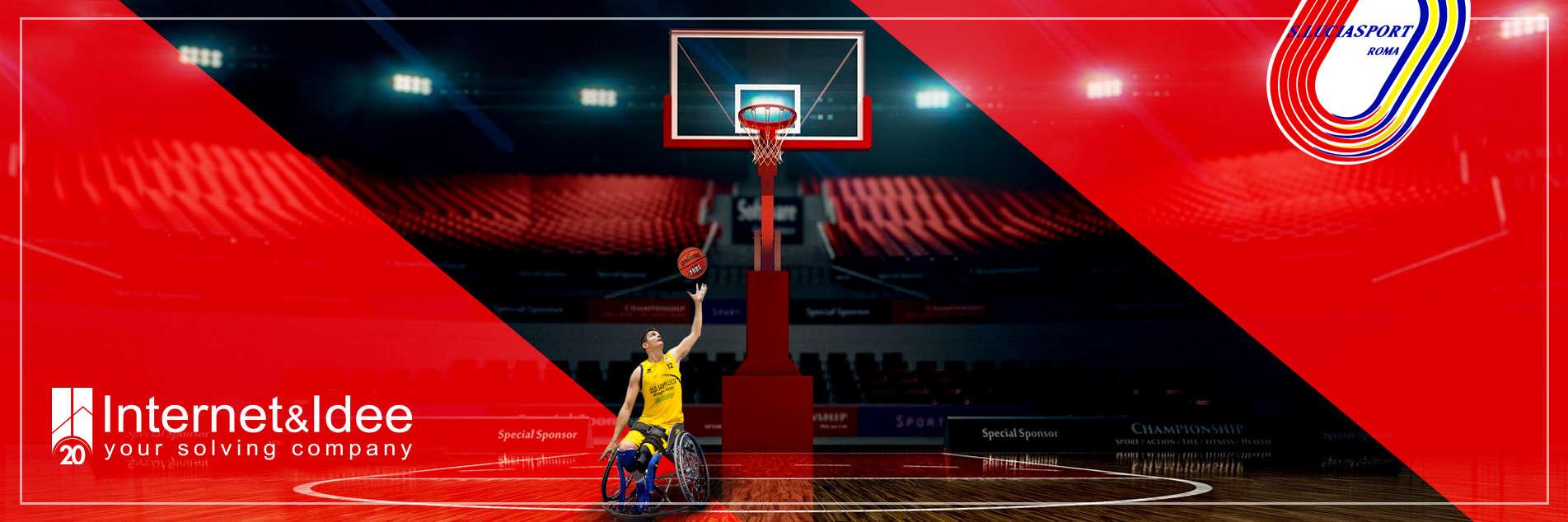 Internet & Idee nuovo sponsor della società sportiva Santa Lucia Basket Roma