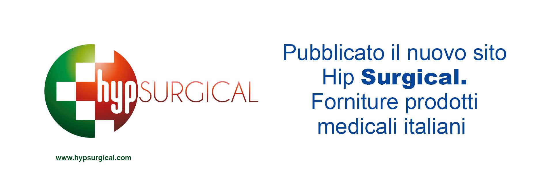 Pubblicato il nuovo sito di Hyp Surgical | Forniture prodotti medicali italiani