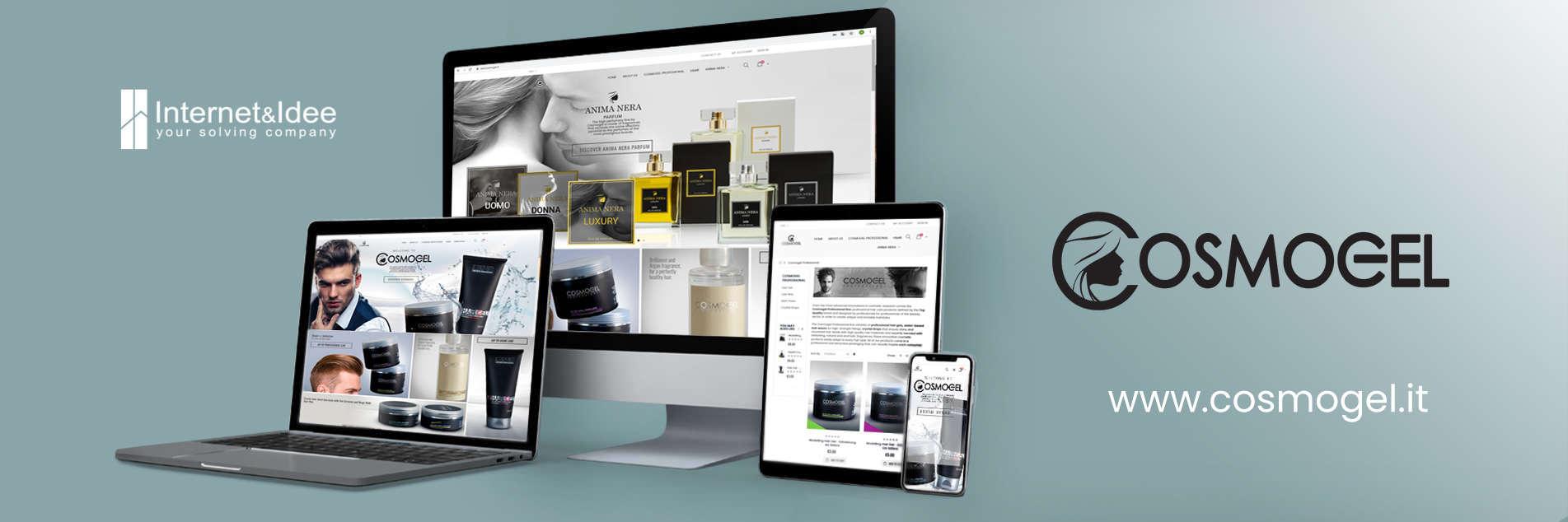 Rilasciato il nuovo e-commerce per la Cosmogel S.r.l.