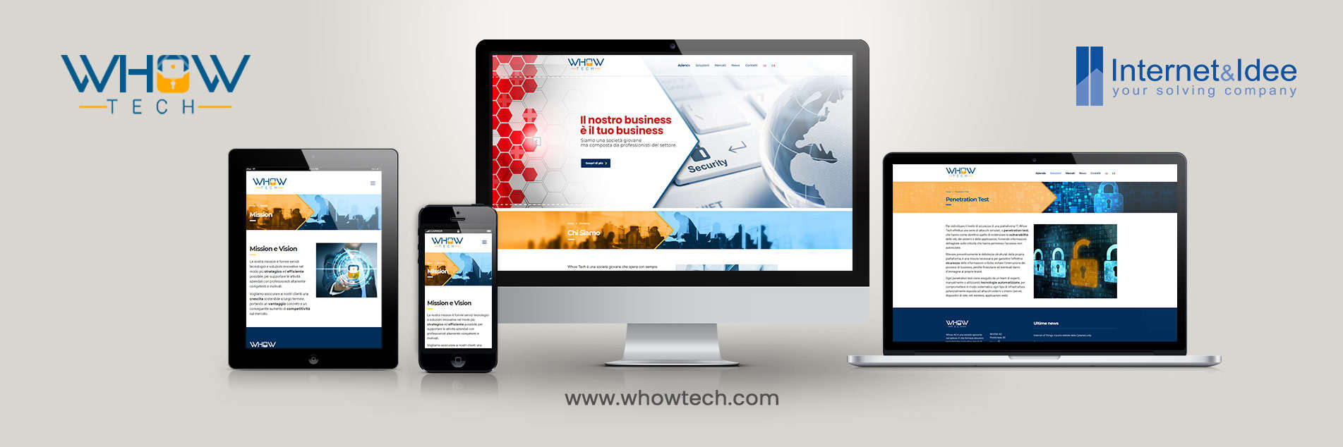 Whowtech.com has been launched: Technological Solutions, System Integration, Cyber Security