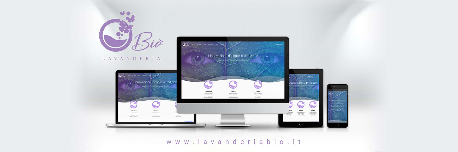 Lavanderia Biò new website is online | Bio-Laundry Center