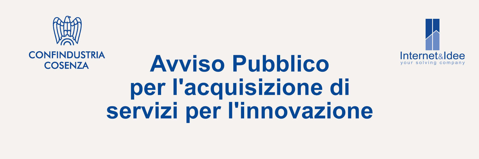 Announcement for the Acquisition of Innovation Services